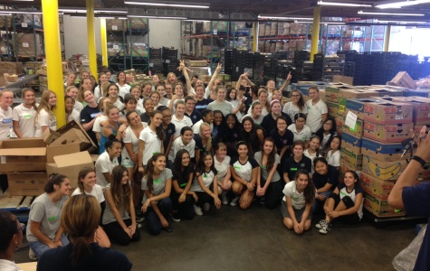 Sophomores Help Feed the Hungry During Retreat Week