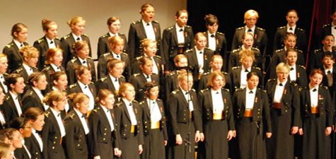 US Naval Academy Women's Glee Club Visits Marymount