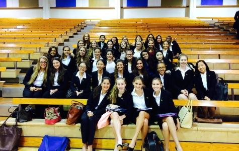 MUN Delegates Wow at Santa Margarita Conference