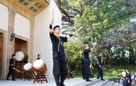 Crespi Celts Wow Sailors with Taiko Drumming
