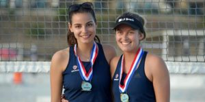 This event is the qualifying event for the 2018 FIVB U19 World Championships which is a qualifying event for the 2018 IOC Youth Olympic Games. It is open to any pairs that are born in 2000 or later and is held at the Elite Athlete Training Center in Chula Vista, California December 28-30, 2017 (Photo By Matt Brown)
