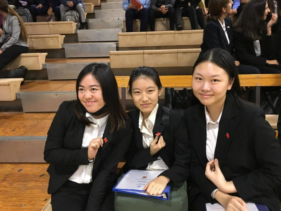 Sailors Dominate at First MUN Conference of 2019