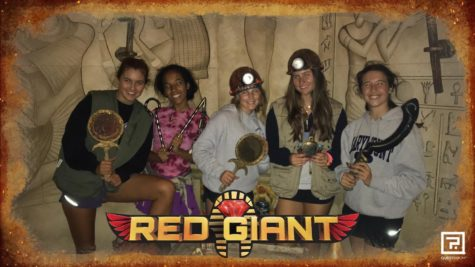 Group two in the Red Giant escape room.