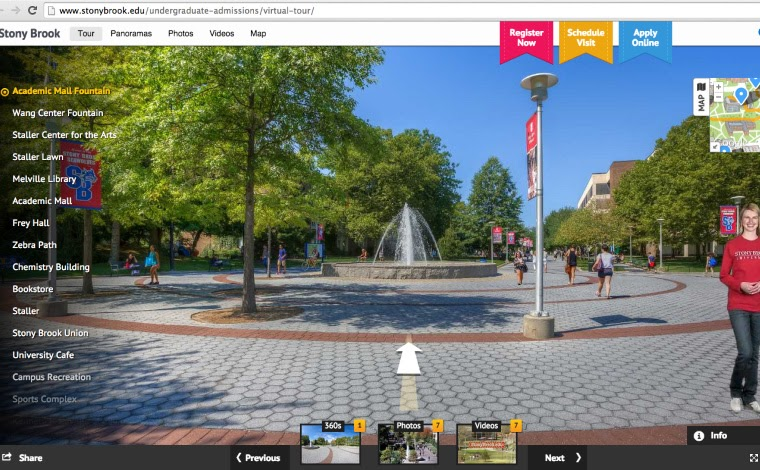How to Explore College Campuses Virtually