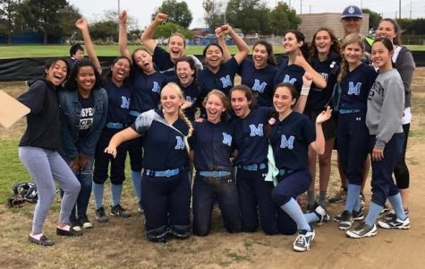 Marymount's Softball Team, 2018. When the current seniors were celebrating the end of their sophomore year.