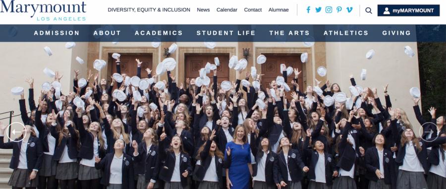 Photo from Marymount High School, Los Angeles website. Courtesy of Stephanie David and Marymount Communications Team.