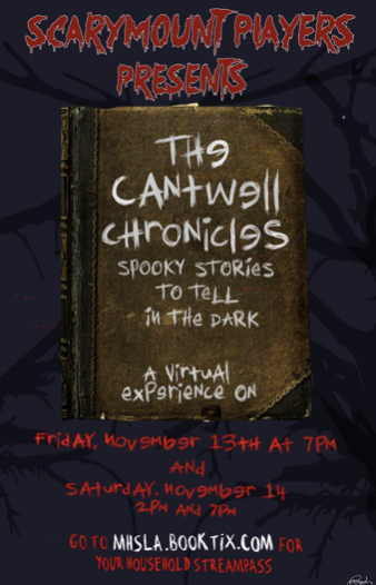 Last year the Marymount Players performed the Cantwell Chronicles: Spooky Stories to Tell in the Dark. The entire play was recorded remotely. This year's production will be Peter and the Starcatcher!