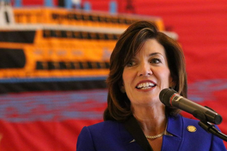 New York's First Female Governor, Kate Hochul